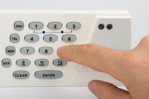 Disarming Commercial Security Alarm System
