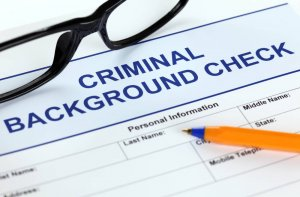 commercial security system company criminal background check
