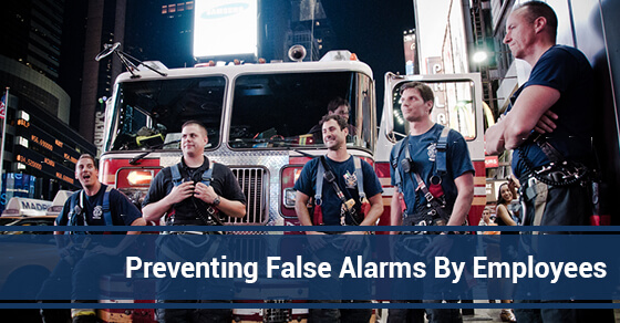 Preventing False Alarms By Employees