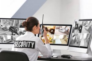 remote cctv video monitoring security guard