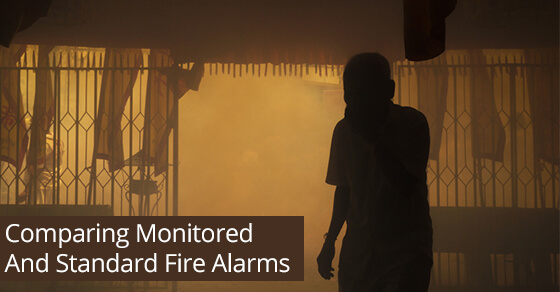 Comparing Monitored And Standard Fire Alarms