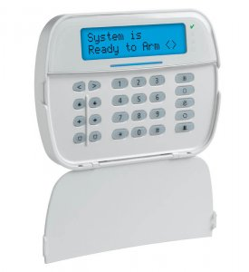 DSC Neo HS2LCD LCD Security Alarm Monitoring System Keypad with Blue Screen