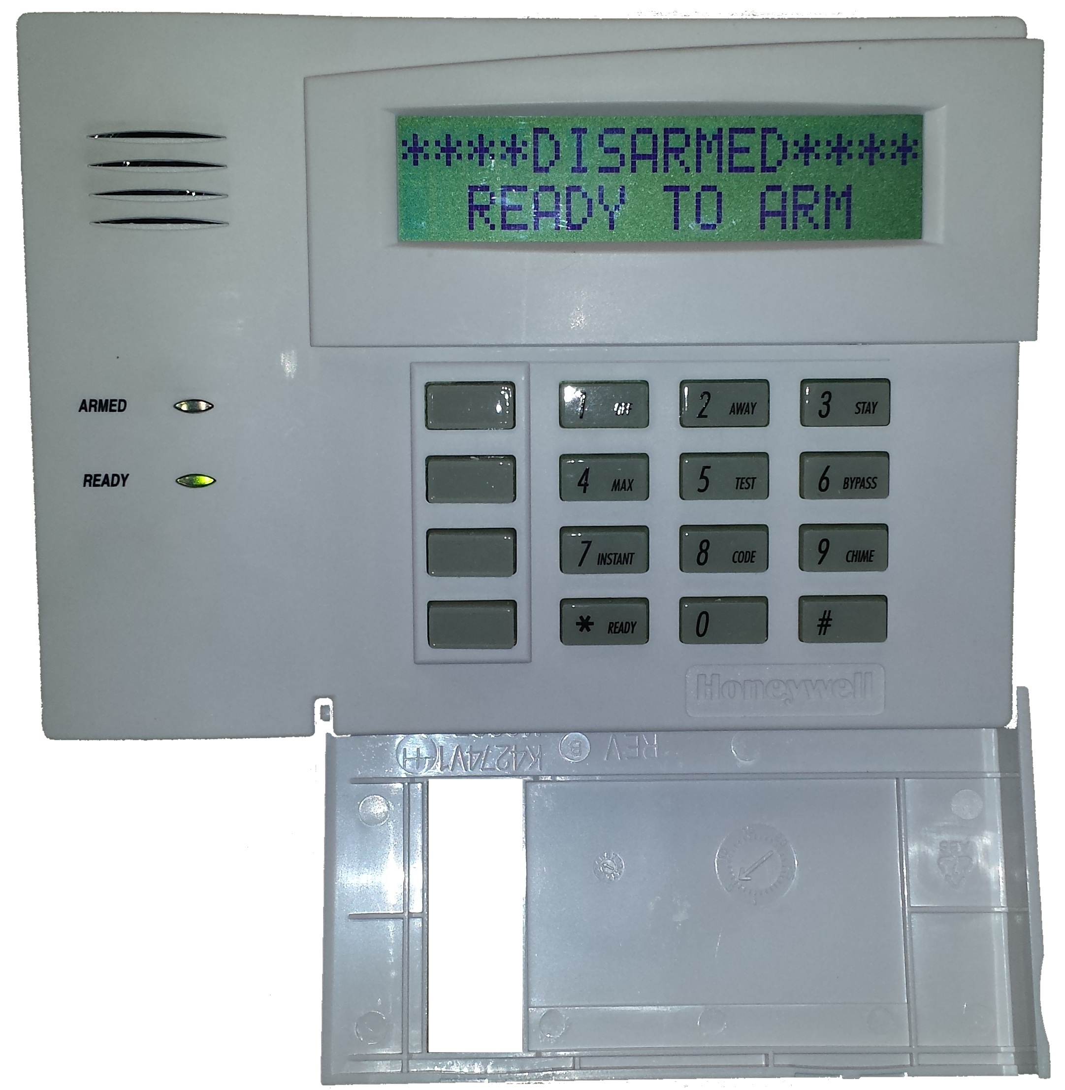 tech tips how to check a trouble condition on a honeywell vista alarm monitoring panel keypad. Black Bedroom Furniture Sets. Home Design Ideas