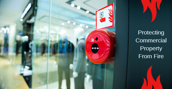 Commercial Property Fire Protection Tips