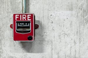 ULC fire alarm monitoring pull station