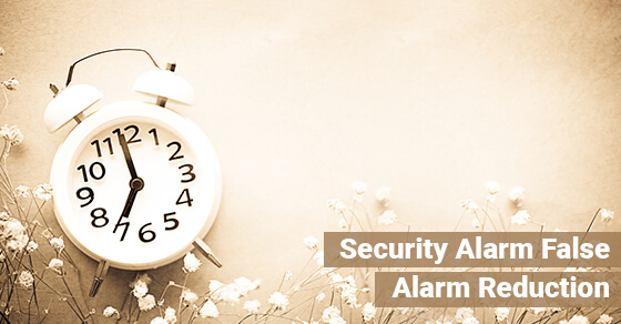 Security Alarm False Alarm Reduction