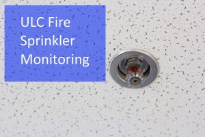 ULC fire sprinkler monitoring sprinkler head