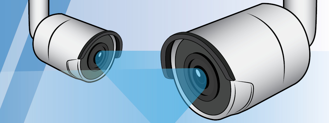Network connected security cameras