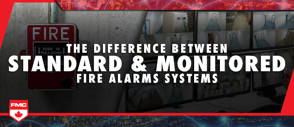 the difference between standard and monitored fire alarm systems header image