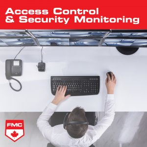 access control and security monitoring image