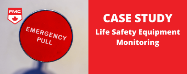 life safety equipment monitoring case study header image