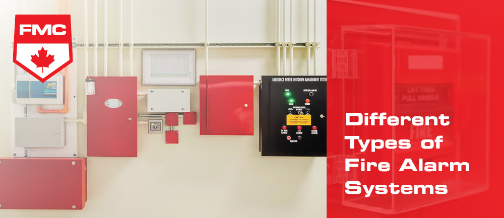 types of fire alarm systems header image
