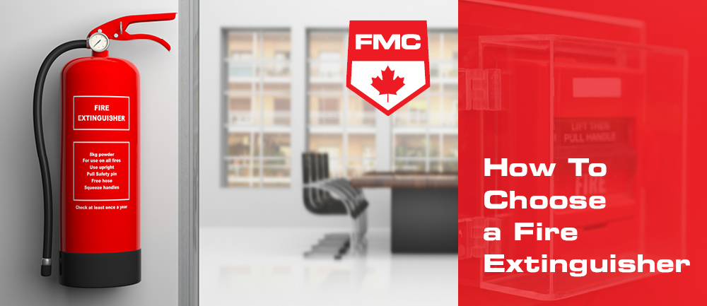 how to choose a fire extinguisher header image