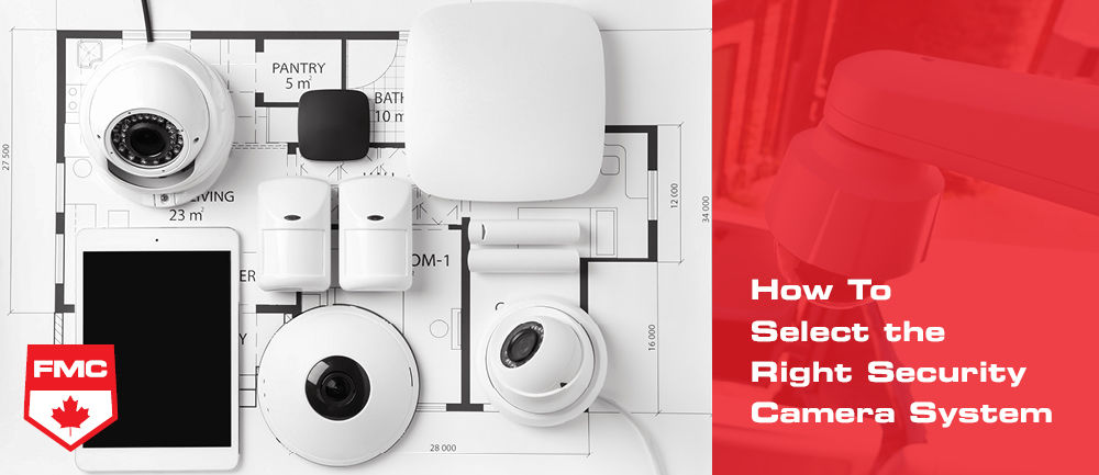 how to select a video surveillance system image