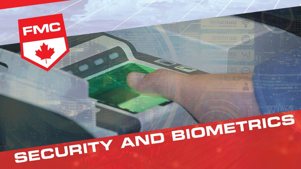 header image of security and biometrics