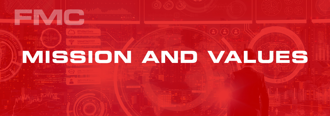 FMC mission and values page header image