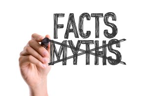 image of myths versus facts